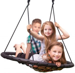 Sorbus Spinner Swing – Kids Indoor,Outdoor tree swing