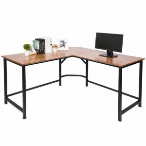 TOPSKY L-Shaped 55 x 55 inches Desk Corner Computer Desk