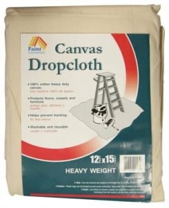 Galaxy Products Paint Essentials Canvas Drop Cloth