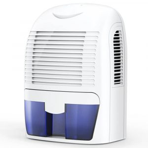 Hysure Dehumidifier, Compact, and Portable, 1500ml