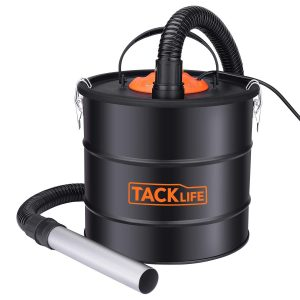 TACKLIFE Ash Vacuum Cleaner with 5 Gallon Capacity VAC Canister