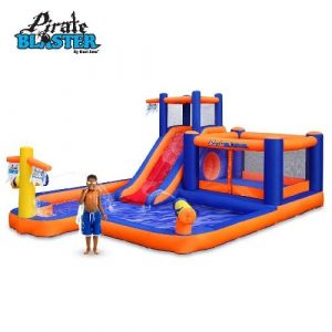Toys & Child Blast Zone Inflatable Pirate Blaster Water Park