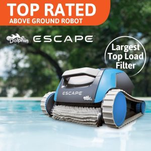Dolphin Escape Robotic Pool Cleaner Above Ground