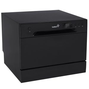 Ivation Portable Dishwasher Black Countertop