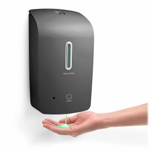 Alpine Wall Mountable Touchless, Liquid Soap Dispenser