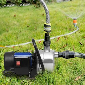 Flyerstoy 1.6HP Shallow Well Pump Stainless Booster Pump Lawn Water Pump