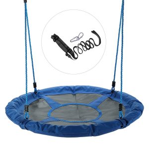 CO-Z Large Saucer Outdoor Tree Swing, 40-Inch
