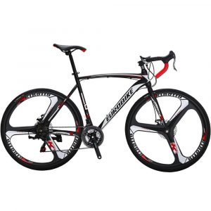 EUROBIKE Road Bike XC550 21 Speed with Dual Disc Brake Bicycle