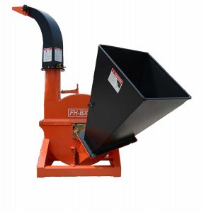 Farmer Helper 4-Inch dia Wood Chipper