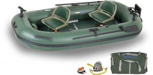 Sea Eagle Stealth Stalker STS10 Frameless Inflatable Fishing Boat