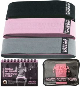 Arena Strength Fabric Resistance Booty Bands for Butt and Legs