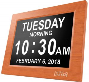 American Lifetime Day Clock -Extra-Large Impaired Vision Digital