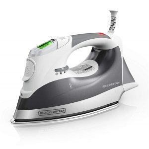 BLACK+DECKER D2030 Digital Professional Steam Iron with LCD