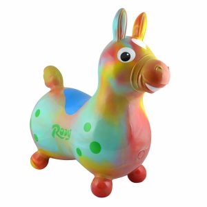 Gymnic Rody Horse Ride-On Inflatable Toy - Arte Swirl