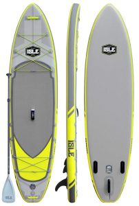 ISLE Surf and SUP Airtech Inflatable Stand Up Paddle Board