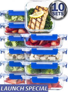 Misc Home Glass Food Storage Containers