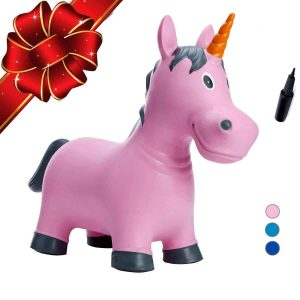 Babe Fairy Bouncy Horse-Jumping Horse for Toddlers