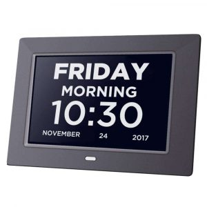 VOBOT Extra Large Impaired Clock Digital Clock Dementia