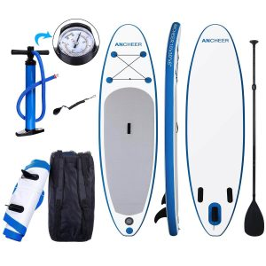 ANCHEER Inflatable SUP Paddle Board