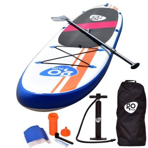 Goplus Inflatable Stand Up Paddle Board 10-Inch