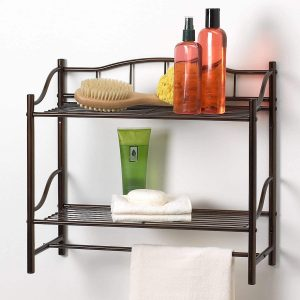 Creative Bath Complete Collection 2 Shelf Wall