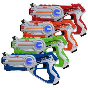 Kidzlane Infrared Laser Tag-Set of 4 Players