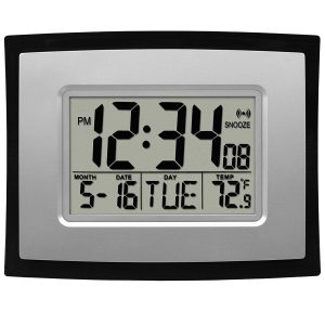La Crosse WT-8002U Digital Technology Wall Clock