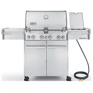 Weber Summit 7270001 S-470 Natural-Gas Grill