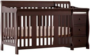 Storckcraft portfolio 4-in-1 fixed side convertible crib
