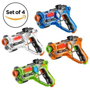 Toydaloo Set of 4 Infrared Laser Tag Guns