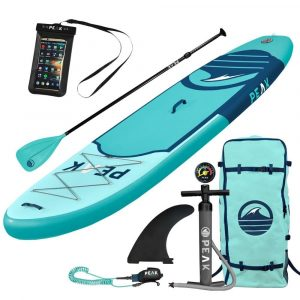 PEAK Paddle Boards 10'6'' Stand Up Paddle Board Complete Package