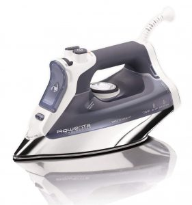 Rowenta DW8080 Pro Master 400-Hole Micro Steam Iron with Auto-Off