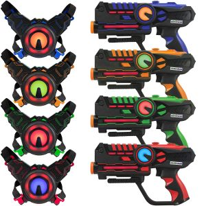 ArmoGear Infrared Laser Tag Guns - Laser Battle Mega Pack Set of 4
