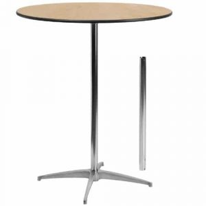 Flash Furniture 36 inches Round Wood Cocktail Table