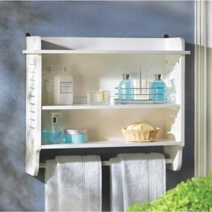 Gifts & Decor Nantucket Bathroom Wall Shelf