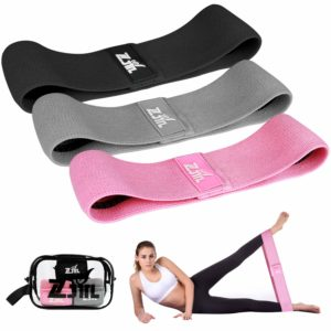 ZJTL Strength Booty Bands Resistance Exercise Bands (Set of 3)