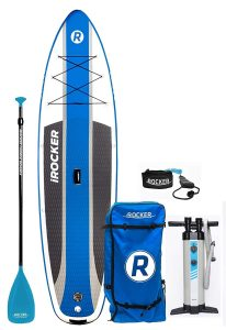 iRocker 6-inch Cruiser Inflatable Stand Up Paddle Board