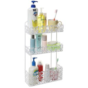 MyGift Decorative 3 Tier Shelf Wall Mounted