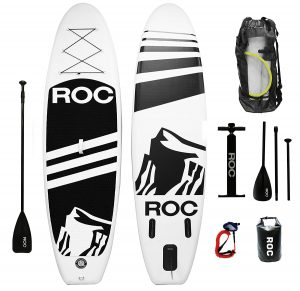 Roc Paddle Board Inflatable SUP Paddle Board Package