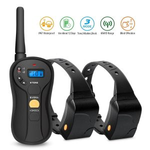 FOCUSPET Dog Training Collar for 2 Dogs