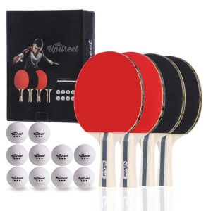 Upstreet Ping Pong Paddle Set