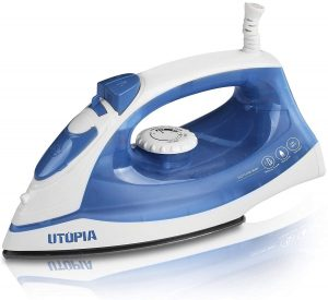 Utopia Home Steam Iron Nonstick Soleplate – best for Travel