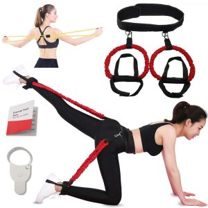 Airmoon Butt Lift Workout Adjustable Band Kit