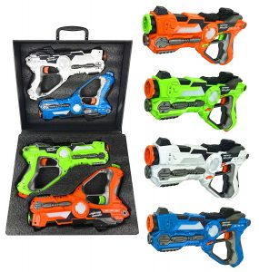 Liberty Imports Multiplayer Extreme Infrared Laser Tag - (Set of 4)