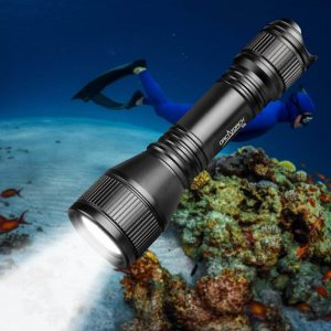 ORCATORCH Upgraded Version 2018 D550 Submarine Flashlight