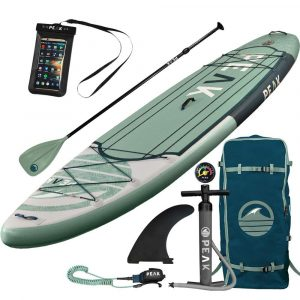 PEAK Paddle Boards Expedition Inflatable Stand Up Paddle Board
