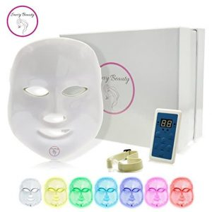 7 Color LED Light Therapy Photon Mask | Professional Skin Rejuvenation System for Acne, Wrinkles