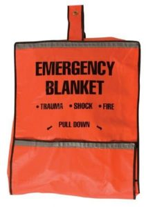 Safety Flag 8025 Emergency Pouch and Fire Blanket