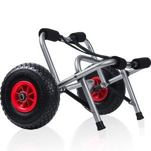 OxGord Kayak Dolly Boat Trolley Tote Cart Carrier
