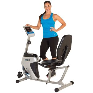 ROGEAR 555LXT Magnetic -Tension Recumbent Bike